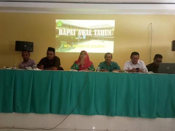 RAPAT AWAL TAHUN MTs. NEGERI 15 JAKARTA