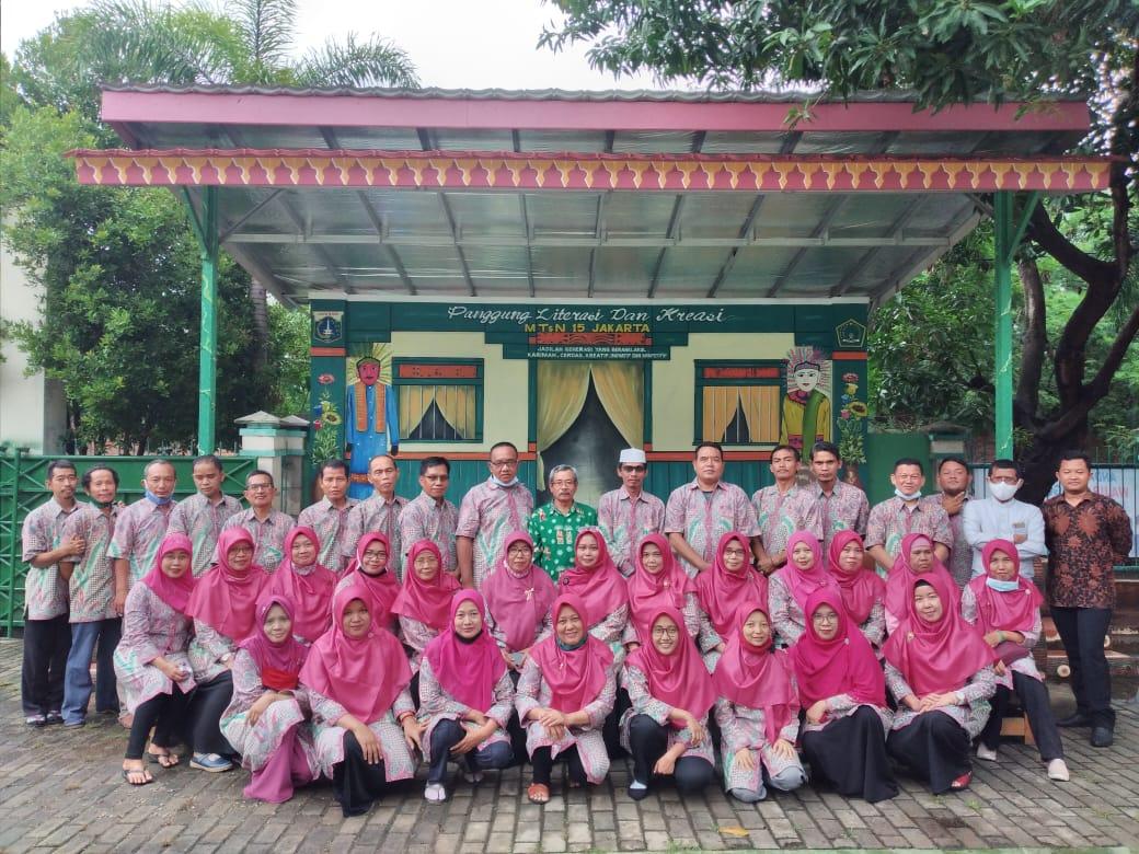 acara buka Puasa Lintas Alumni MTsN 15 Jakart